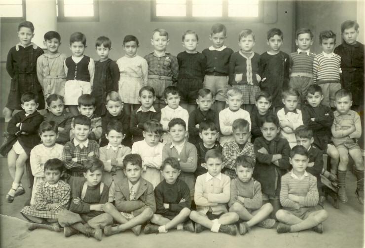 Alg rie blida cole cazenave 1948 1949 classe de 11 me for Domon jacques